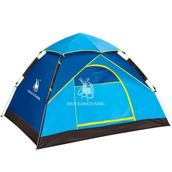 4 man single layer air hydraulic tent H25B
