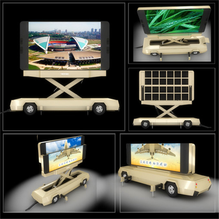 P5 P6 P8 P10 Vehicle HD Video Truck Mounted Led Screens Multimedia Advertising