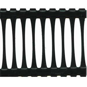 HDPE single direction geogrid mesh