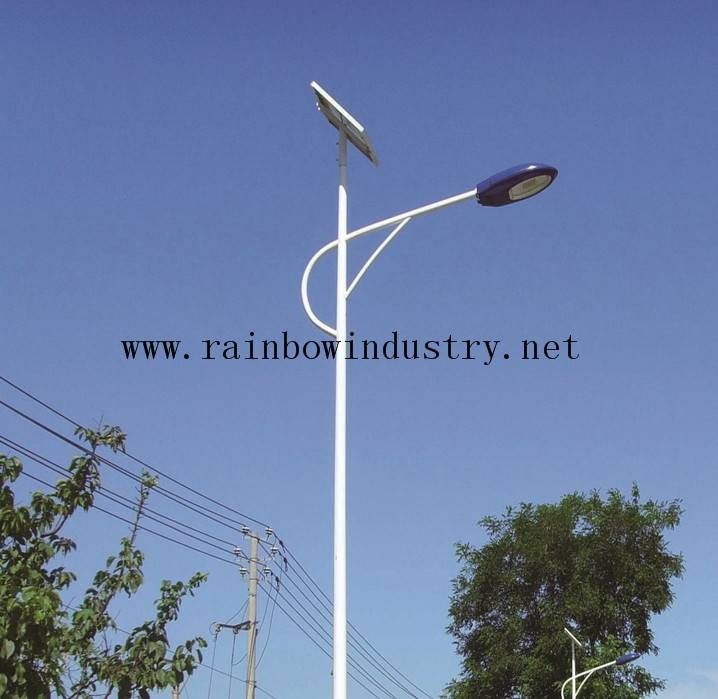 LED Solar street light 8m high