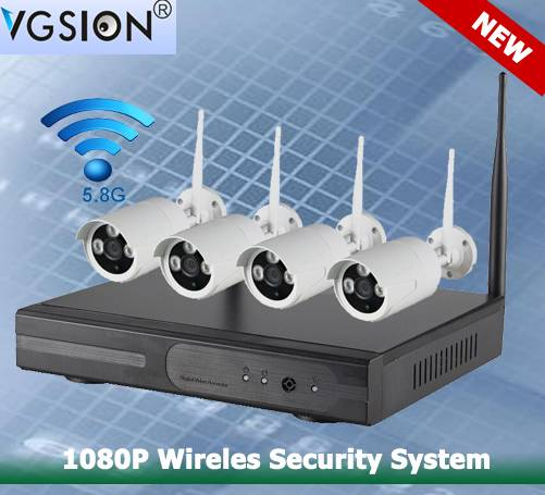 1080P Wireles Security System