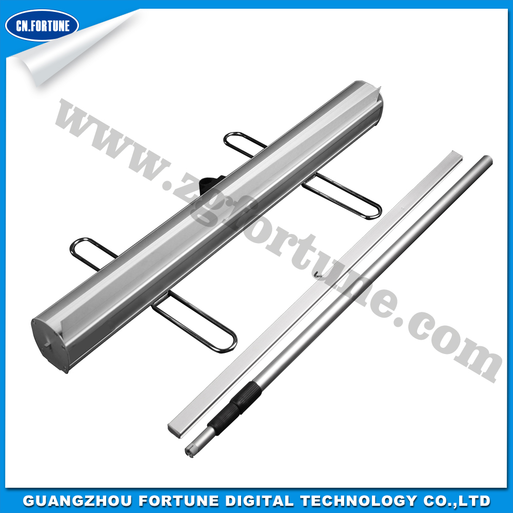 New Style Aluminum Alloy Roll Up Stand aluminum feet