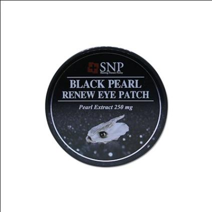 [SNP] Black Pearl Renew Eye Patch - Premium Korea Pearl Eye Patch 100% Guarantee