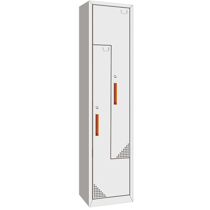 Z Shape Steel Locker for Stroage personal belongings