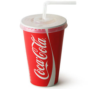 12oz Cold Beverage Paper Cup