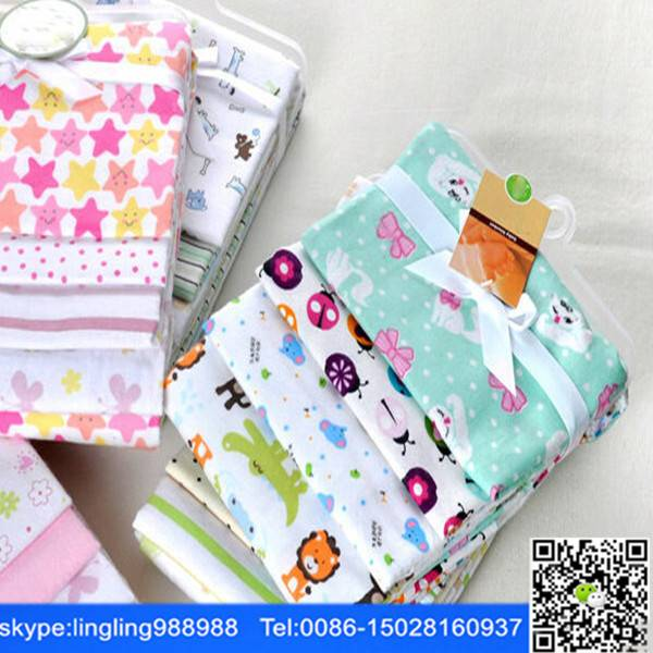 100% cotton printed flannel fabric blanket