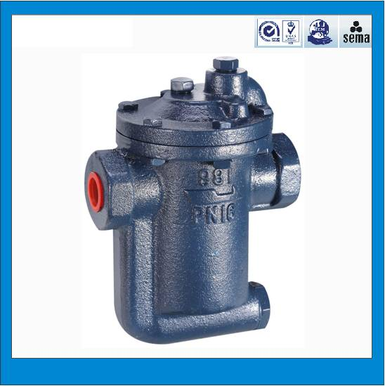 High quality casr iron inverted bucket steam trap