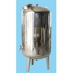 Stainless steel mechanical media filter housing for water treatment mechanical fluid filtration
