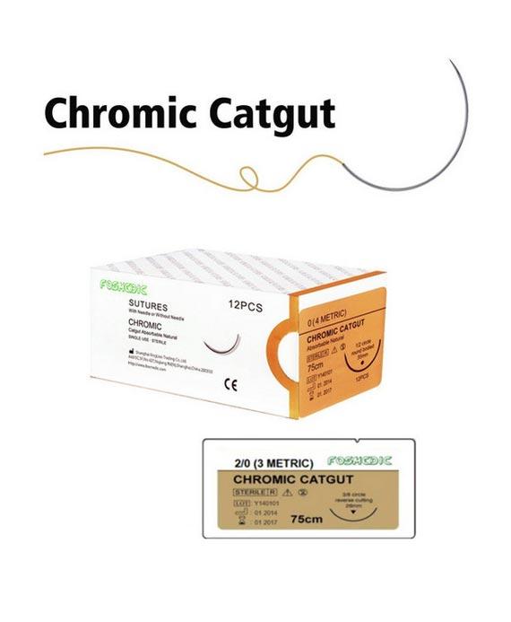 Chromic Catgut Sutures