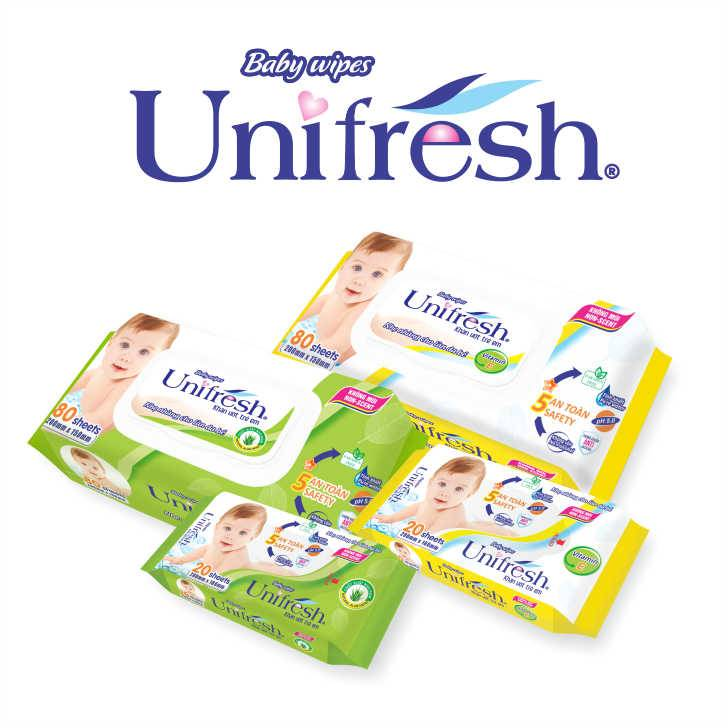 Unifresh-Baby Wet Wipe (Baby Wet Tissue)