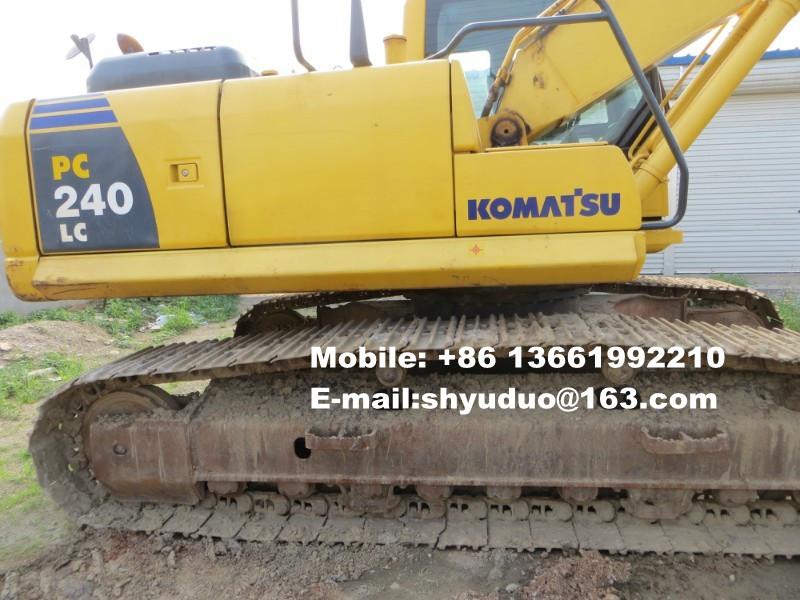 Used Komatsu Crawler Excavator PC210LC