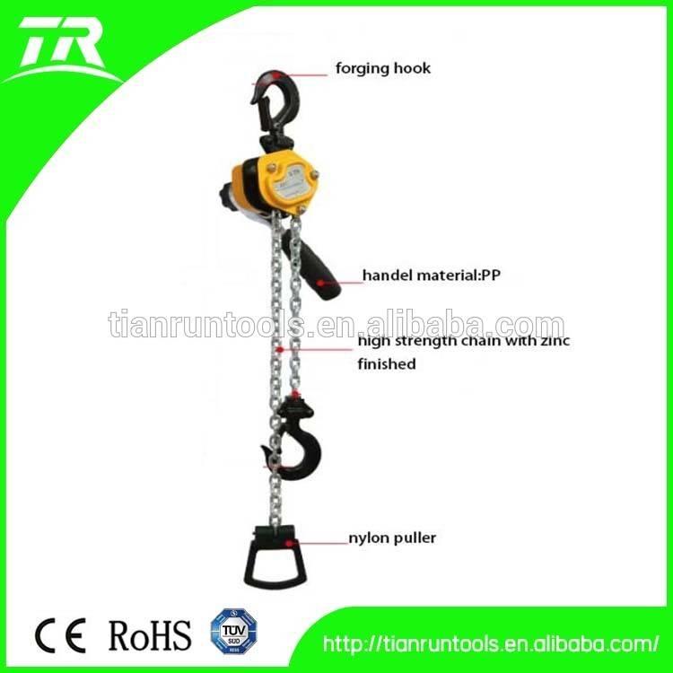 0.5T hand manual chain hoist / chain block / construction hoist