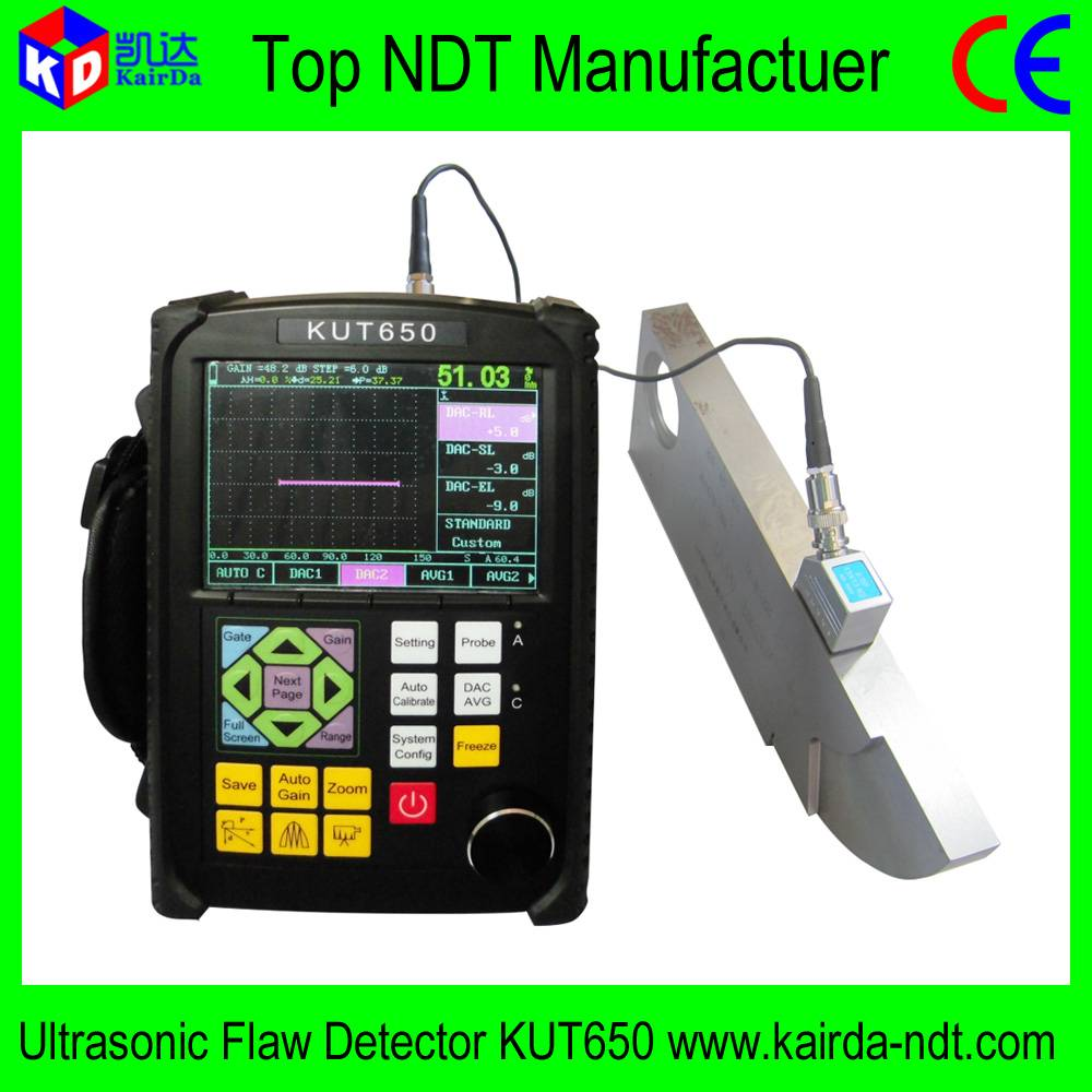 Low Price Ultrasonic Flaw Detector