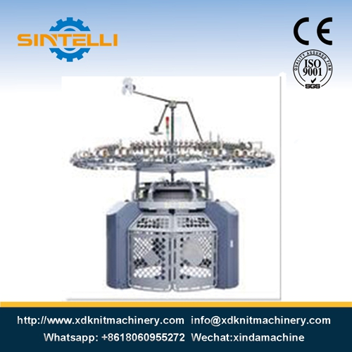 Small Size Double Jersey Circular Knitting Machine