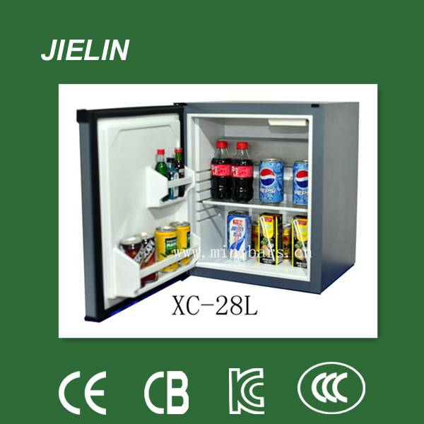 28L high quality  silent hotel absorption mini bar fridge
