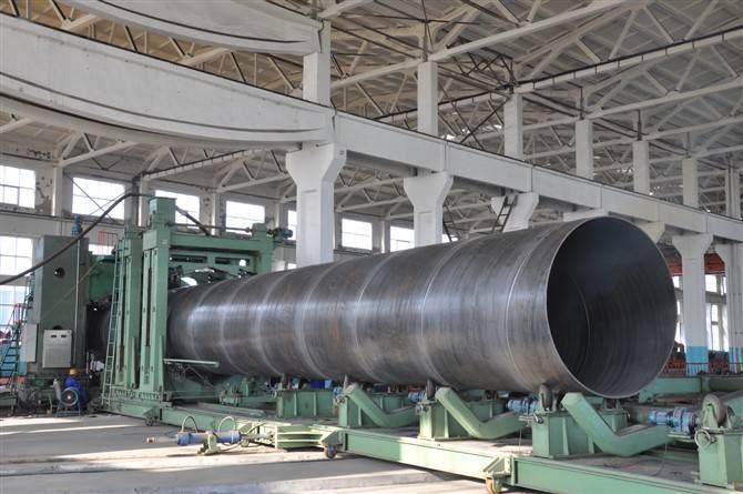 Fluid Steel Pipe/SAWH Steel Pipe/Spiral Welded Steel Pipe