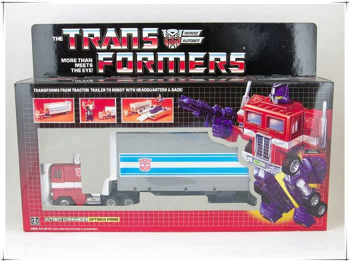 Brand New Transformers Autobots G1 OPTIMUS PRIME Toy With Box Set Christmas Gift