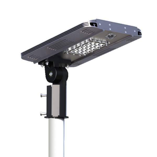 Best Integration Design 7W Solar Power and DC Power Charge All In One Solar Street Light with Long S