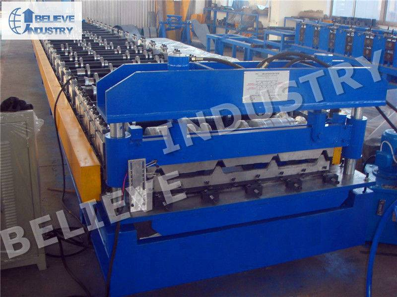 Trapezoidal Sheets Roll Forming Machine - YX45-333.3-1000