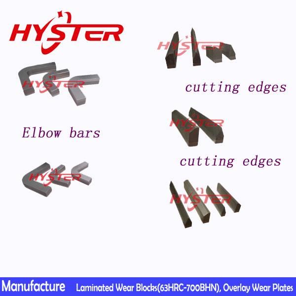 wholesale sugar cane cutting edges chrome carbide bi-metallic wear bar china manufacturer