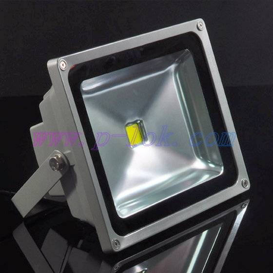 50W high quality LED flood light with light sensor