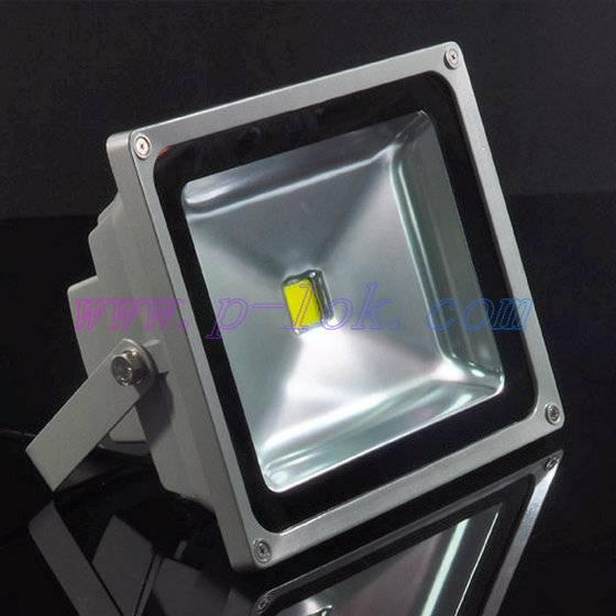 50W high quality LED flood light with light sensor
