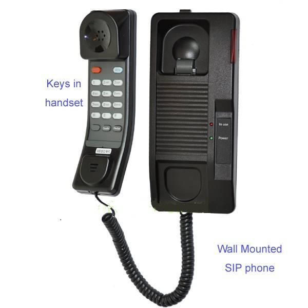 SIP IP Phone with PoE, IAX2