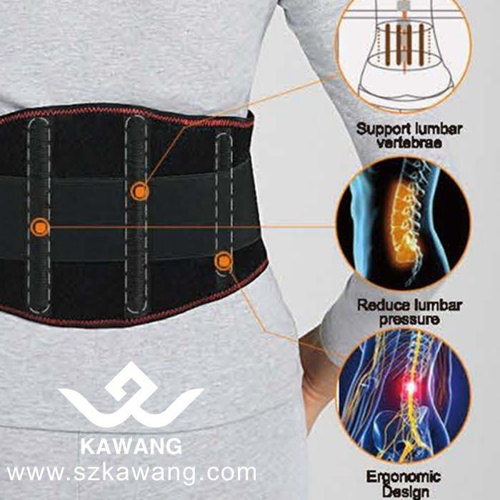 Health Care Far Infrared Heating Belt Electric Battery Heated Waist Belt