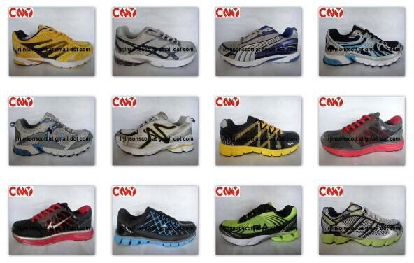 2014 zatapos running shoes high quality air sport shoes with MD & Rubber Sole