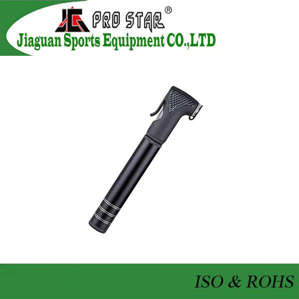 Alloy Mini Bicycle Pump in 120PSI with Accurate Gauge