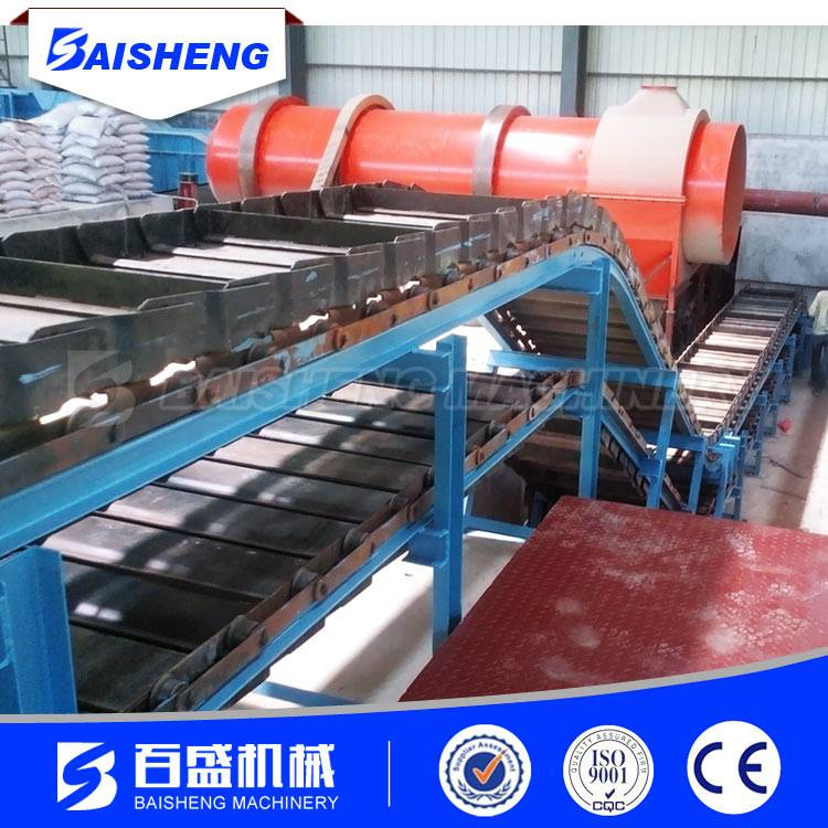 Baisheng Heavy duty apron chain conveyor