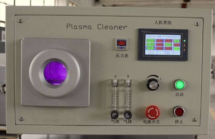 Protech nano scale vacuum plasma cleaner