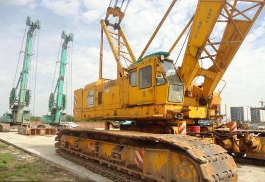 Used Hitachi 150t KH700 Crawler Crane