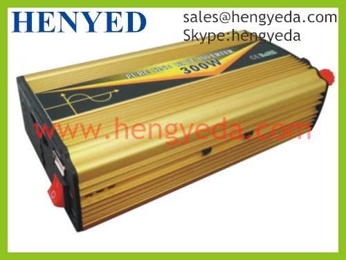 300W Pure Sine Wave Power Inverter /Automatic Intelligent Inverter (HYD-300P)