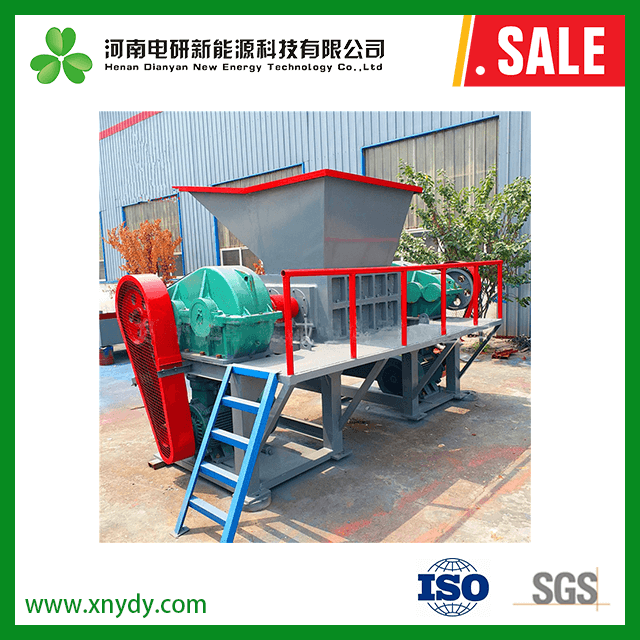 China Customized single shaft wooden furnitures shredder - China tire shredder prices, wood pallet s