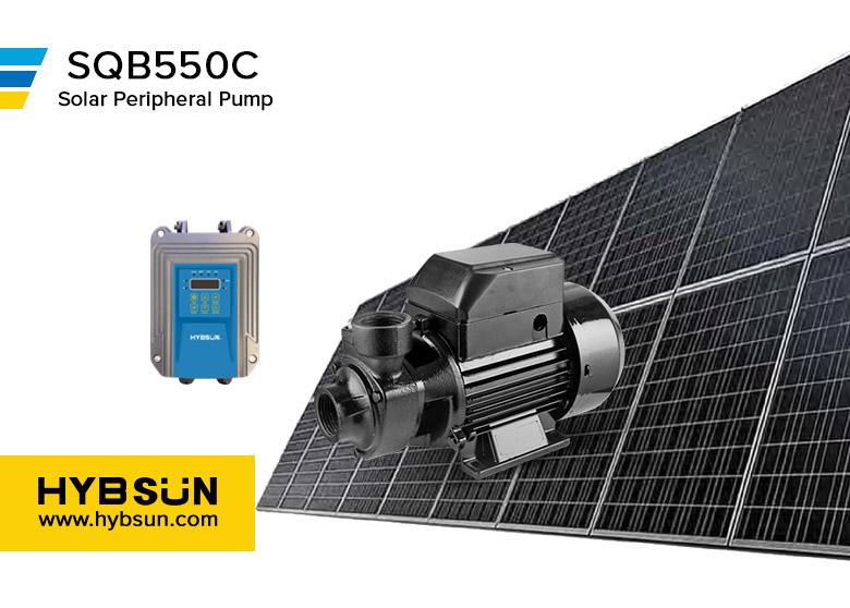 HYBSUN SQB Solar Peripheral Pump SQB550C