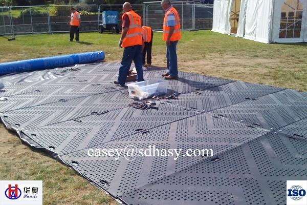 ground protection mat / temporary road mat