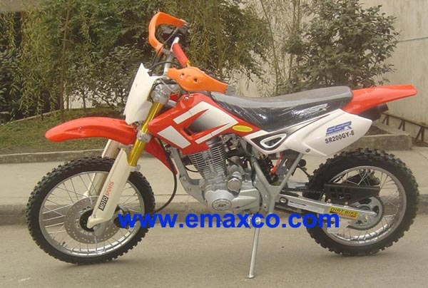 SUZIUKI style dirt bike for 200cc with upside down fork