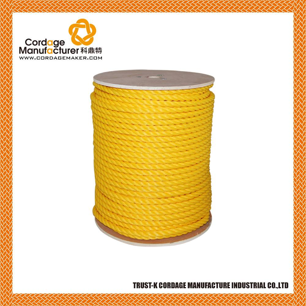 PP Monofilament 3 Strand Twisted Rope