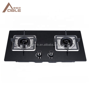 Glass Cooktop Gas Cooker Cooktop Part Glass Double Burner Gas Stove Infrared Burner