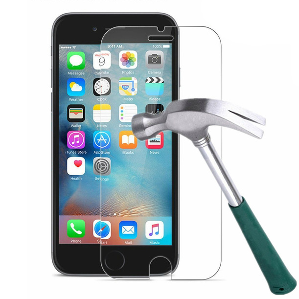Factory supplier wholesale anti shatter for iPhone 8 tempered glass screen protector