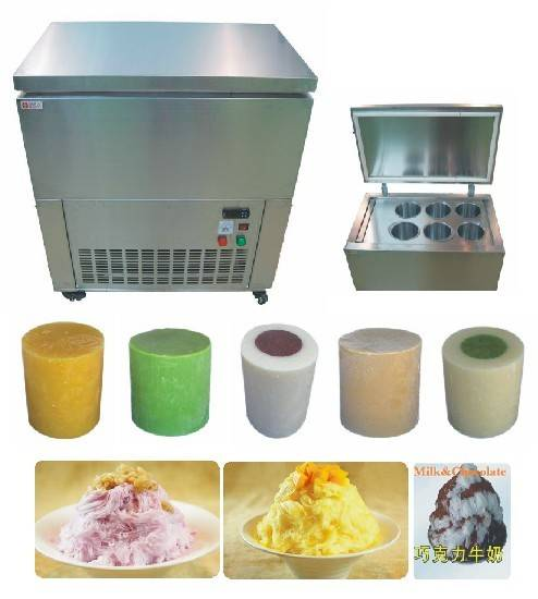 commercial solid ice block maker/snow flake ice making machine for ice shaver/ice machine