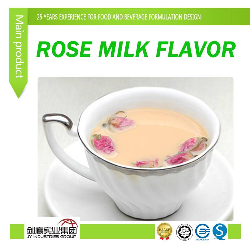 Rose Milk Flavor for food