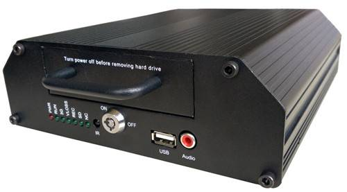 4 ch AHD HDD Vehicle dvr with 4G/GPS/ 4CH AHD MOBILE DVR Support HDD