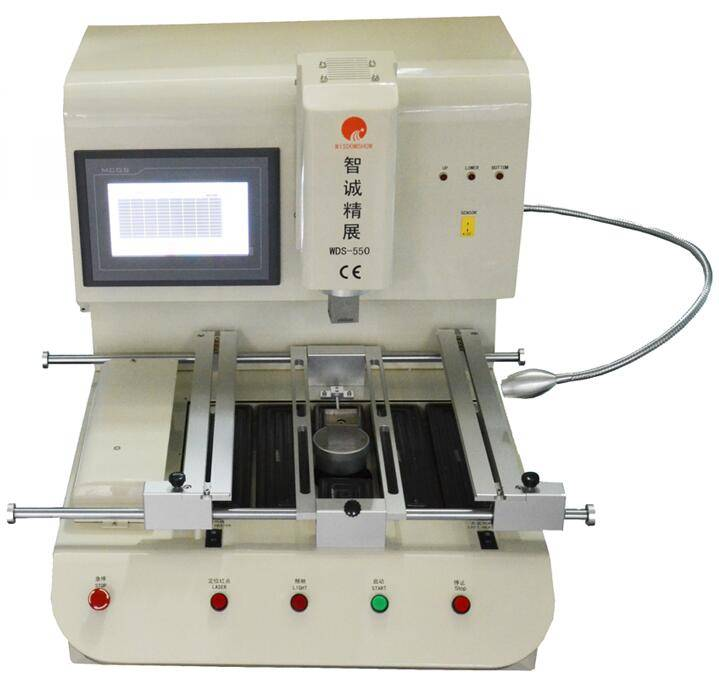 Low cost bga chip desoldering and soldering bga qfp soldering station WDS-550