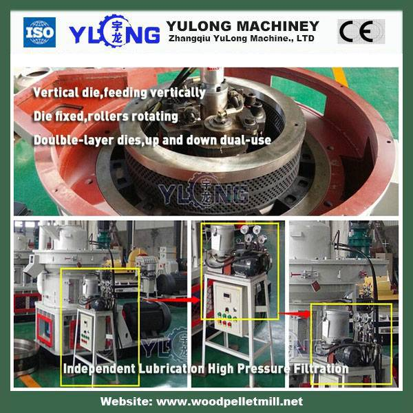 CE flat die wood pellet machines&biomass wood pellet mill line