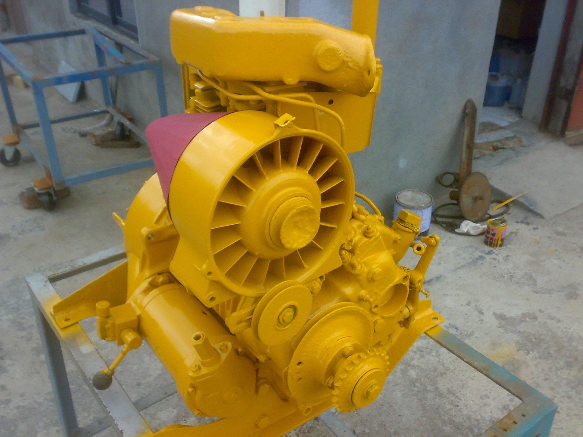 Deutz F2L inboard Diesel Engine