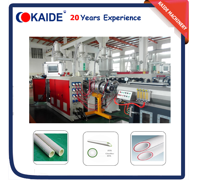 20mm-110mm Glassfiber PPR Pipe Extrusion Machine