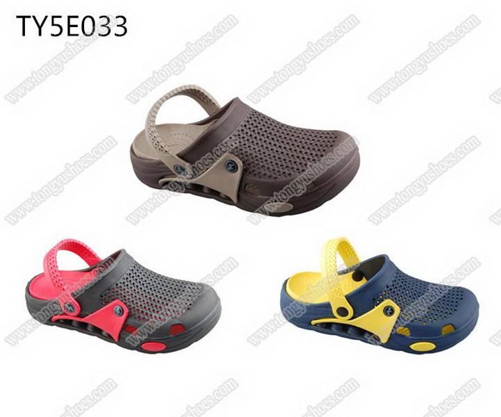 comfort air cushion sole men sport eva clogs shoes
