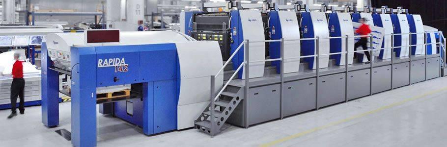 Used KOENIG BAUER RAPIDA 142/8 SW (2006) sheetfed offset printing press